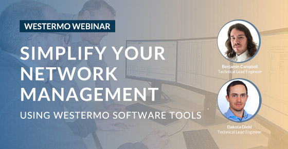 Westermo software tools webinar.