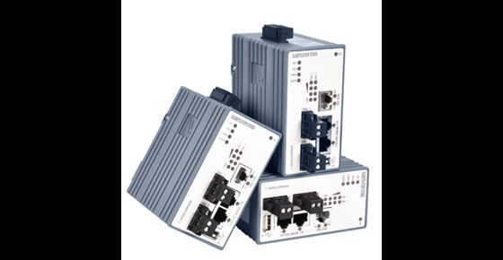 Westermo Wolverine series of industrial Ethernet extenders.