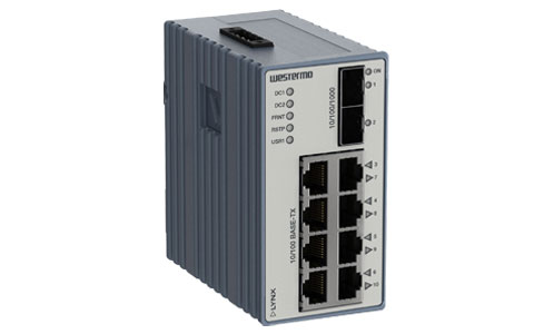 Westermo Lynx Managed Industrial Ethernet Switch L210-F2G.