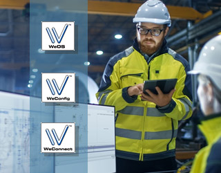 Westermo quality software for secure industrial network management.